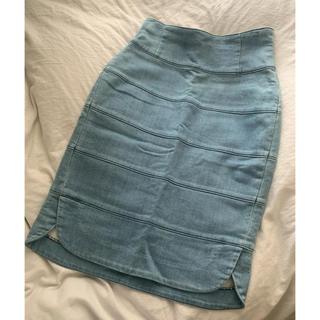 ユナイテッドアローズ(UNITED ARROWS)のユナイテッドアローズ UNITED ARROWS デニム スカート (ひざ丈スカート)