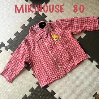 ミキハウス(mikihouse)のミキハウス ブラウス 長袖シャツ(シャツ/カットソー)