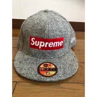 Supreme - 09AW Supreme Harris Tweed Box Logo Cap