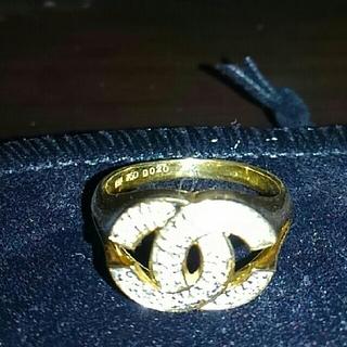 🎅クリスマス期間限定お値下げ🎄CC マーク💍ダイヤ指輪💍