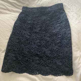 ユナイテッドアローズ(UNITED ARROWS)のユナイテッドアローズ レースタイトスカート(ひざ丈スカート)
