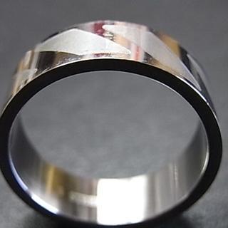 B品 ステンレスリング R19(リング(指輪))