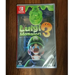 Nintendo Switch - うなぎ様専用 新品未開封 ルイージマンション3 Nintendo Switch