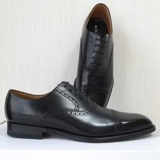 リーガル(REGAL)のREGAL ビジネスシューズ 122R ブラック ストレートチップ EE(ドレス/ビジネス)