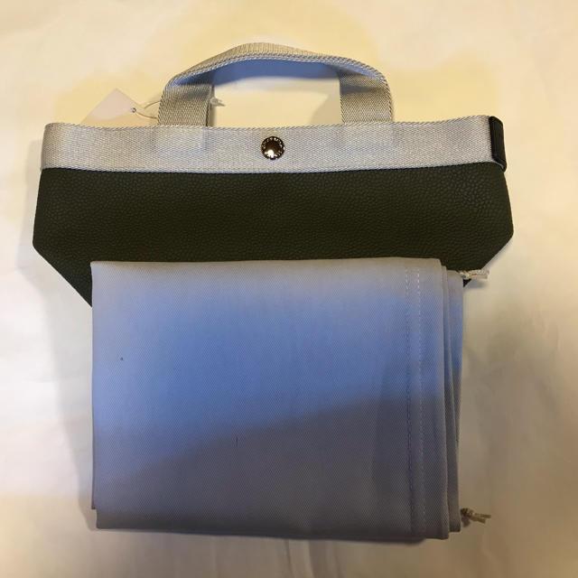 Herve Chapelier(エルベシャプリエ)のHerve Chapelier エルベシャプリエ  701GP 深緑&銀 レディースのバッグ(トートバッグ)の商品写真