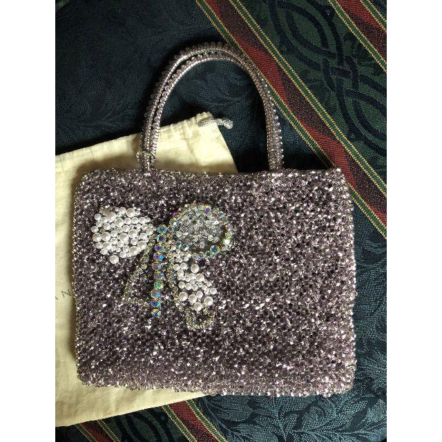 ANTEPRIMA(アンテプリマ)のアンテプリマ バック★ナストロW25★リボンビジュー★VIORA FILO レディースのバッグ(ハンドバッグ)の商品写真