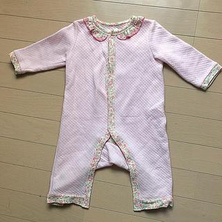 ニシキベビー(Nishiki Baby)のsweetgirl 冬用ロンパース 80サイズ(ロンパース)
