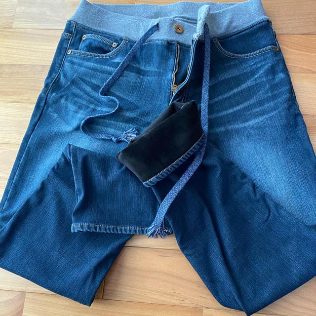 しまむら(シマムラ)の【まとめ売り!超お得!!】裏地あったかパンツ メンズのパンツ(デニム/ジーンズ)の商品写真