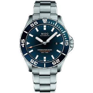 [ミドー] 腕時計 オーシャンスター 60気圧防水 クロノメーター(腕時計(デジタル))
