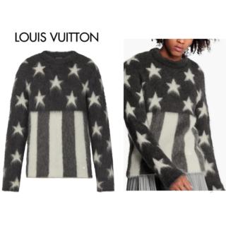 ルイヴィトン(LOUIS VUITTON)の美品Louis Vuitton モヘア ニット M(ニット/セーター)