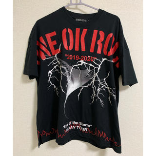 ONE OK ROCK - ONEOKROCK 2019-2020ツアー ビックTシャツ