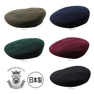 カシラ(CA4LA)のベレー帽 ブラック(ハンチング/ベレー帽)