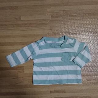 H&M - H&M ボーダーTシャツ 1-2months