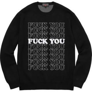 シュプリーム(Supreme)のsupreme hysteric glamour sweater black(ニット/セーター)