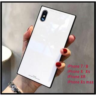 スクエア 白 ホワイト 大人気カラー iPhoneケース 夏に人気