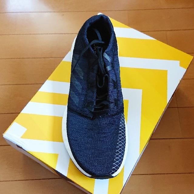 adidas(アディダス)の27.0cm アディダス ピュアブースト 黒 ランニングシューズ スポーツ/アウトドアのランニング(シューズ)の商品写真