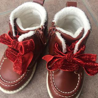 エイチアンドエム(H&M)の美品 女の子 ブーツ  h&m 13cm(ブーツ)