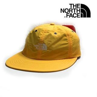ザノースフェイス(THE NORTH FACE)の売切!ノースフェイス THROWBACK TECH キャップ 黄色 180623(キャップ)