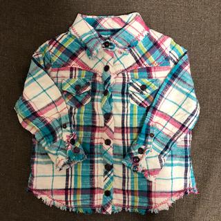 エムピーエス(MPS)のエムピーエス ラプア ネルシャツ サイズ90(ブラウス)