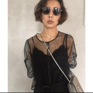 Ameri VINTAGE - ☆新品 即完売品 AMERI TULLE SEE-THROUGH DRESS