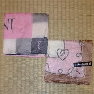 サンローラン(Saint Laurent)の新品☆イヴ・サンローラン☆スカーフ(バンダナ/スカーフ)