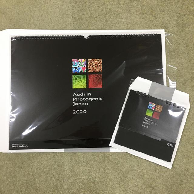 AUDI(アウディ)のアウディ2020年壁掛けカレンダー&卓上カレンダー インテリア/住まい/日用品の文房具(カレンダー/スケジュール)の商品写真