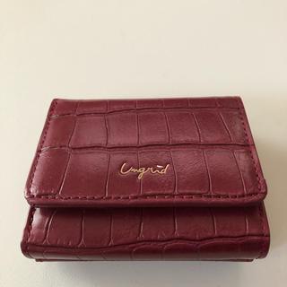 アングリッド(Ungrid)のUngrid 三つ折り財布(財布)
