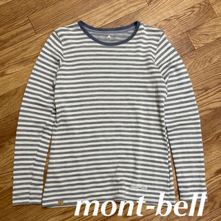 mont bell - 【mont-bellモンベル】メリノウールボーダーロングスリーブT