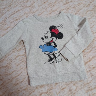 Disney - ディズニー❤️ミニー  トレーナー110cm