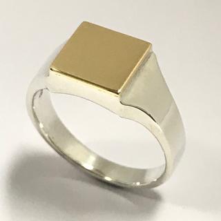 エスオーエスエフピー(S.O.S fp)の仕上済☆シンパシーオブソウル☆Signet Ring☆SILVER×K18☆(リング(指輪))