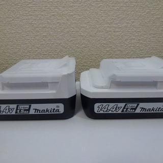 マキタ(Makita)の★新品★ BL1415G (2個セット)マキタ純正バッテリ 14.4V(工具/メンテナンス)