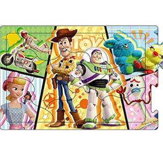 トイストーリー(トイ・ストーリー)のトイ・ストーリー4 ステップパノラマパズル(知育玩具)