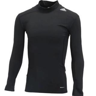 アディダス(adidas)のアンダーシャツ テックフィット WARM ロングスリーブモックシャツ(ウェア)