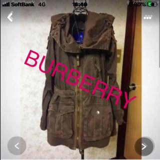 バーバリーブルーレーベル(BURBERRY BLUE LABEL)のBURBERRY  2way(ダウンジャケット)