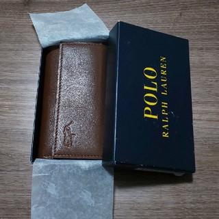 ポロラルフローレン(POLO RALPH LAUREN)の(新品)POLO RALPH LAURENキーケース(キーケース)
