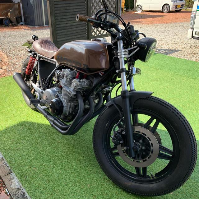 RC04 CB750F 車検付 カフェレーサー  ボバー 自動車/バイクのバイク(車体)の商品写真