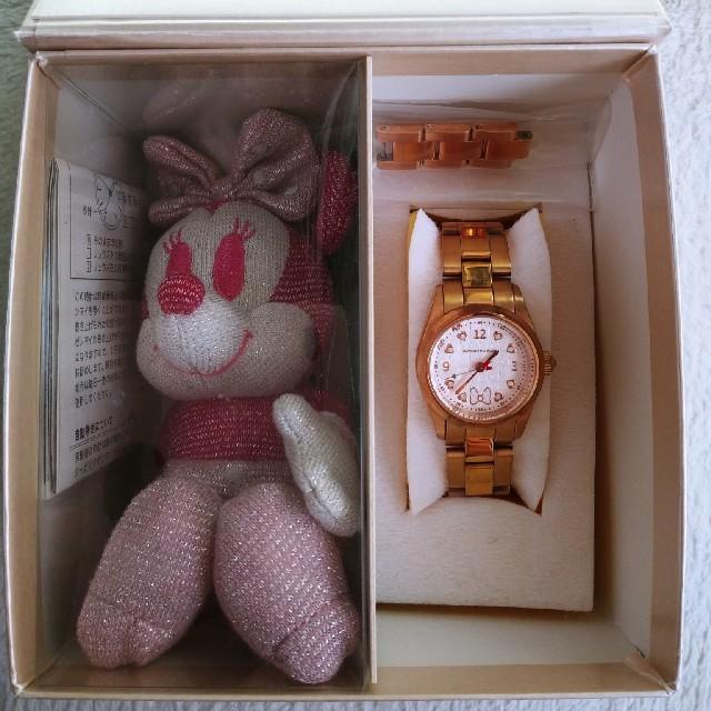 Samantha Silva(サマンサシルヴァ)のレディース 腕時計 SAMANTHA SILVA ミニー ディズニー レディースのファッション小物(腕時計)の商品写真