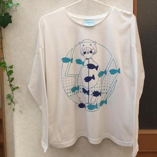 しまむら - 【限定品】SOUくん缶バッジ付きTシャツ