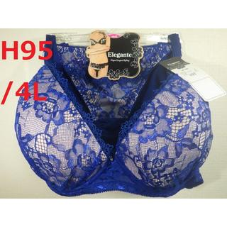 【H95/4L】ブラジャー・ショーツセット★複数個値引きアリ★Hカップ モールド(ブラ&ショーツセット)