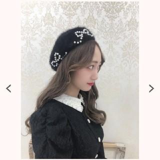 Swankiss - swankiss アンゴラ ベレー帽 ブラック タグ付き
