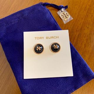 Tory Burch - 新品・正規品♡Tory Burch ピアス ブラック