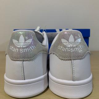 アディダス(adidas)のセール 新品 アディダス スタンスミス オーロラ ホログラム メタリック 25(スニーカー)