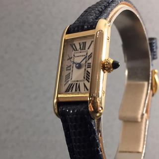 Cartier - 美品 カルティエ Cartier タンクアロンジェ レディース腕時計