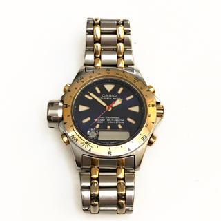 カシオ(CASIO)のCASIO カシオ ALTI-DEPTH METER クォーツ(ジャンク)(腕時計(デジタル))
