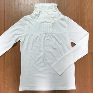 EASTBOY - イーストボーイのオフホワイトのハイネックTシャツ
