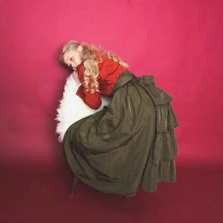 ロキエ(Lochie)のmadder madder ribbon long skirt(ロングスカート)