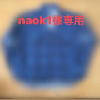 UNUSED - 19aw アンユーズド unused ダメージチェックシャツ サイズ2