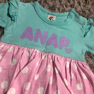 アナップ(ANAP)のANAP 女の子 ロンパース (ロンパース)