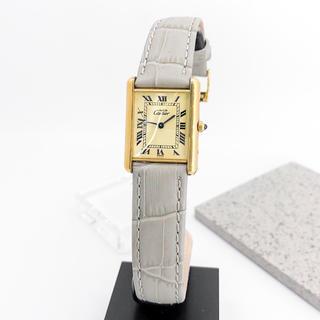 Cartier - 【OH済/仕上済】カルティエ タンク ゴールド レディース 腕時計