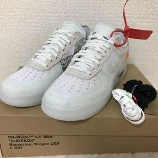 OFF-WHITE - 27cm Off-white NIKE AIR FORCE 1 LOW